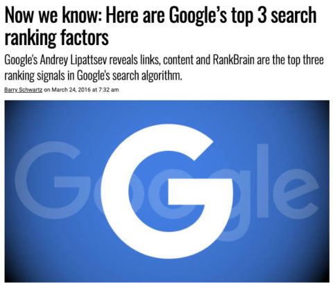 backlinks top 3 ranking factor