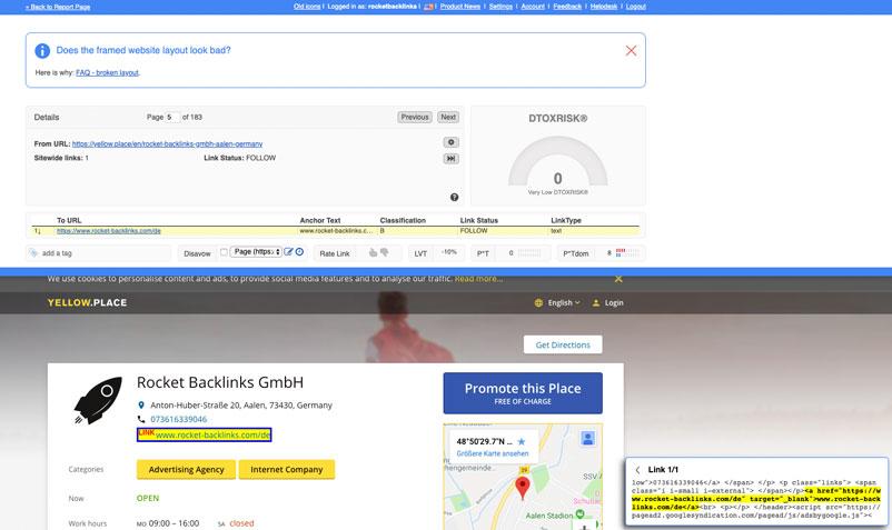 link detox browser